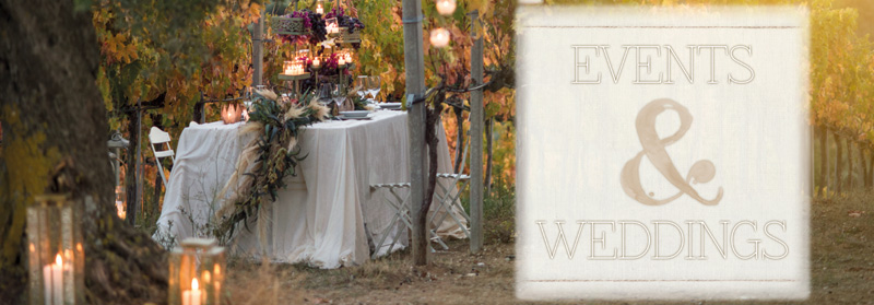 EVENTS & WEDDINGS - Bruco